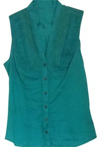 Express Button Down Shirt Teal