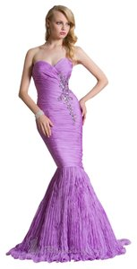 Nika Mermaid Strapless Dress