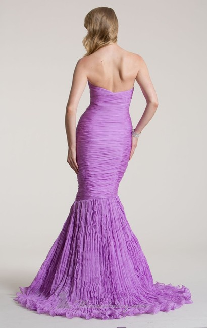 Nika Mermaid Strapless Sweetheart Beaded Dress