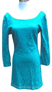 Boutique Shift Lace Dress