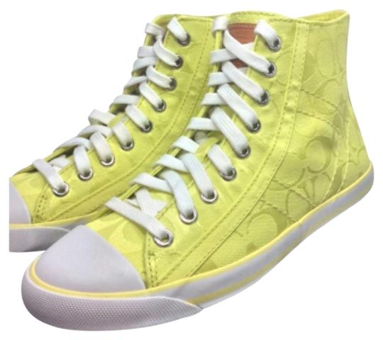 Preload https://img-static.tradesy.com/item/13373287/coach-yellow-citrine-maise-sneakers-size-us-8-regular-m-b-0-1-540-540.jpg