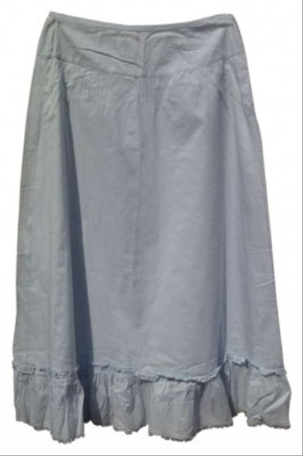 J.Crew Maxi Skirt light blue