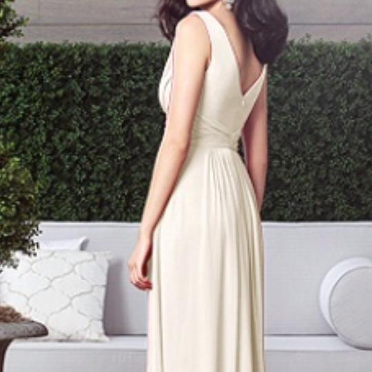 Dessy Palomino Chiffon Collection Style 2907 Formal Bridesmaid/Mob Dress Size 8 (M) Image 1