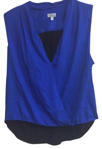 Abbeline Top Blue/Black