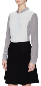 Elie Tahari Button Down Shirt carino/silverpoint