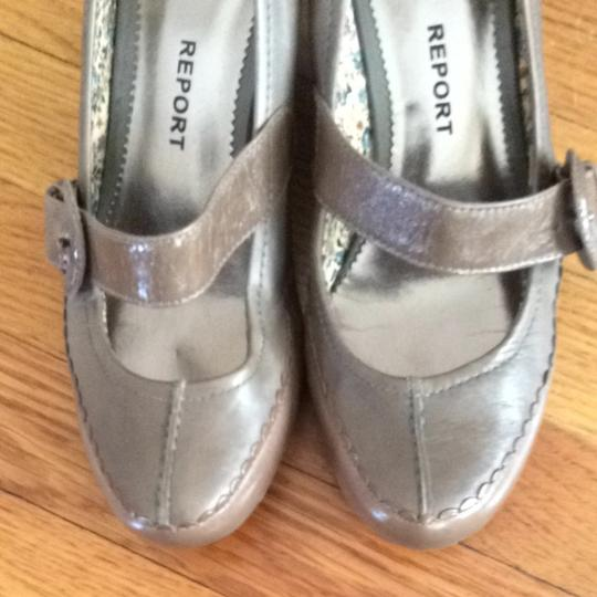 Report Signature Fog (warm Taupe Gray) Wedges