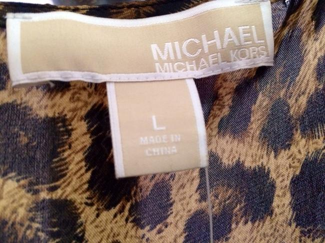Michael Kors short dress Cheetah Print, Multi on Tradesy