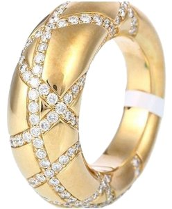 Chaumet SH-CMJ0002 Chaumet 18k Yellow Gold Diamond Ring US 7.25
