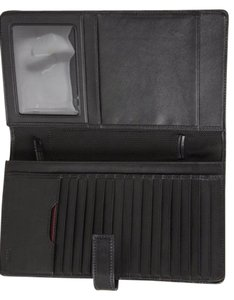 Tumi Tumi Travel Everyday Black Leather Wallet
