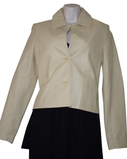 Preload https://img-static.tradesy.com/item/13374991/rem-garson-beige-ivory-yellow-soft-leather-short-button-women-s-blazer-sizexs-motorcycle-jacket-size-0-1-650-650.jpg