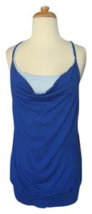 Thread Tunic Layered Top Royal Blue