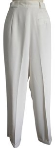 Jones New York Cuffed Dress Trouser Pants White