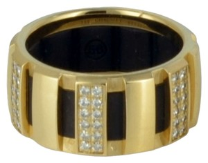 Chaumet SH-CMJ0019 Chaumet Class One Diamond Ring 0.50ct Yellow Gold US 5.75