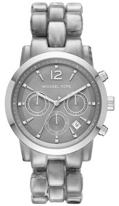 Michael Kors MK6310 Michael kors Women's Ritz Silver Analog Watch