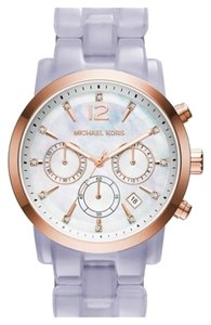Michael Kors Michael kors MK6312 Women's Ritz Rose Gold Analog Watch