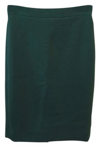 J.Crew Wool Skirt Forest Green