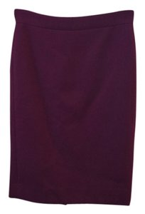 J.Crew Wool Skirt Maroon