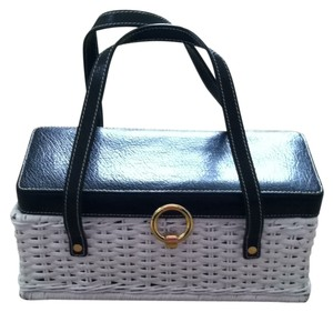 Kate Spade Tote in White and Black