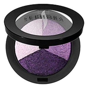 Sephora MicroSmooth Baked Eyeshadow Trio COLOR 06 Ultraviolet Poppy Purple
