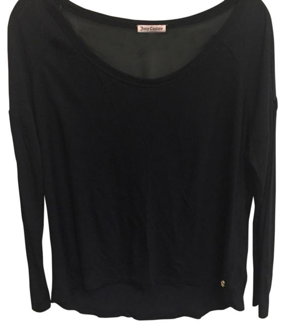 Preload https://item3.tradesy.com/images/juicy-couture-black-tee-shirt-size-10-m-13376707-0-1.jpg?width=400&height=650