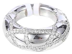 Chaumet SH-CMJ0004 Chaumet 18k white Gold Diamond Ring US 5.25