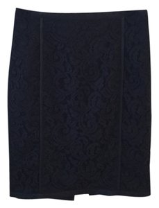 Banana Republic Lace Skirt Black