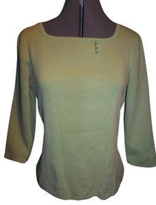 Designers Originals Designers Bright Green 3/4 Length Sleeve Embellished Sweater