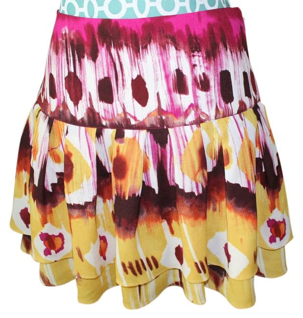 Preload https://item2.tradesy.com/images/bebe-multicolor-nwot-skirt-size-2-xs-26-13376866-0-1.jpg?width=400&height=650