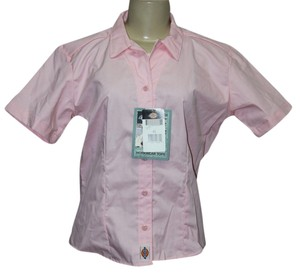 Dickies Button Down Shirt Pink