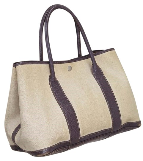 Preload https://item1.tradesy.com/images/hermes-garden-party-toile-h-beige-and-brown-tote-purse-shoulder-bag-13377220-0-1.jpg?width=440&height=440