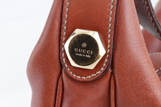Gucci Leather Single Strap Shoulder Bag