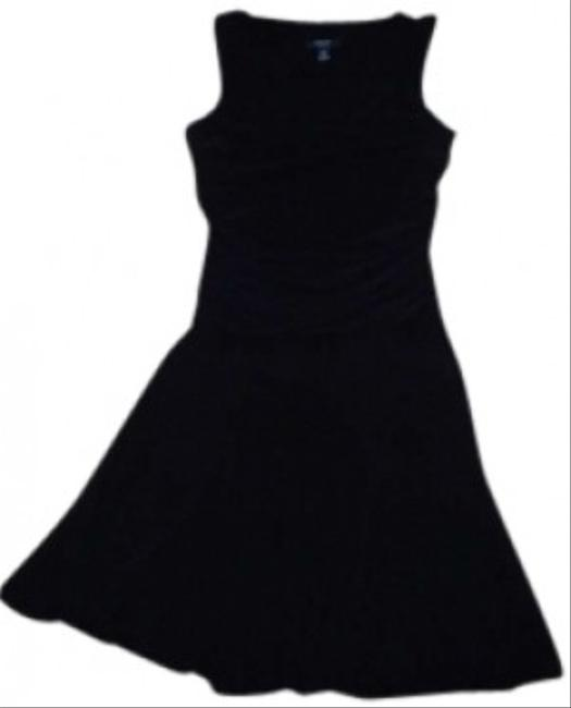 Preload https://item1.tradesy.com/images/chaps-black-mid-length-short-casual-dress-size-12-l-133775-0-0.jpg?width=400&height=650