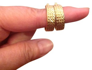 MONET VINTAGE MONET HOOP EARRINGS