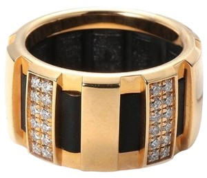 Chaumet SH-CMJ0016 Chaumet Class One Diamond Ring 0.50ct Yellow Gold US 5.75