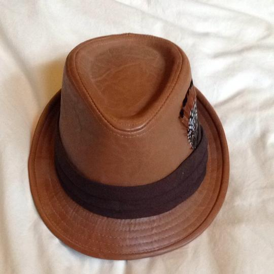 Forever 21 Faux Leather Hat