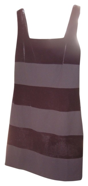 Laundry by Shelli Segal Sheath Sleeveless Striped Lined Dress