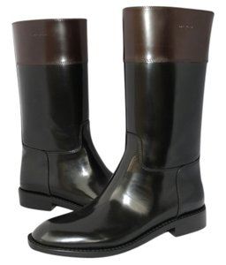 Saint Laurent Leather Brown Boots
