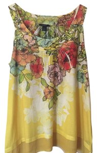 Westbound Top Floral yellow