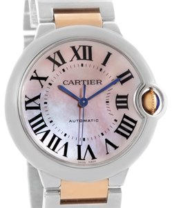 Cartier Cartier Ballon Bleu Midsize Steel 18K Rose Gold Watch W6920070