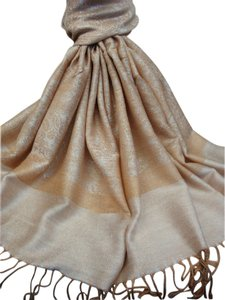 Vecceli Italy GREAT DEAL- A Silky Blend Pashmina Scarf - Free Shipping - paisley pashmina A-12