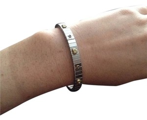 Unknown Beautiful Sterling Silver Stretchy Bracelet