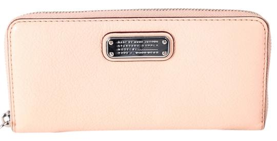 Preload https://item3.tradesy.com/images/marc-by-marc-jacobs-blush-pink-new-q-slim-zip-around-wallet-13378432-0-1.jpg?width=440&height=440