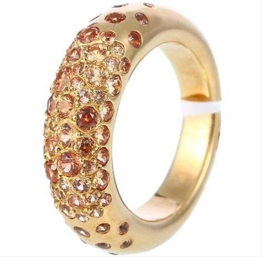 Chaumet Chaumet 18k Yellow Gold Sapphire Ring 2.00ct