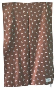 OBEY Early Bird Brown Scarf