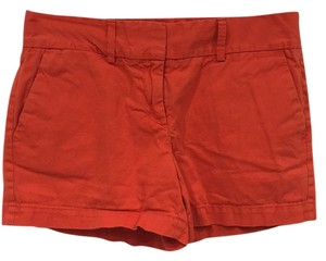 Ann Taylor LOFT Mini/Short Shorts Orange