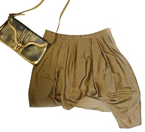 Helmut Lang Mini Skirt Taupe