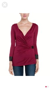 Velvet by Graham & Spencer Top Ruby
