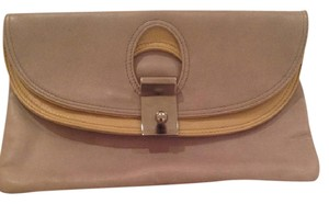 Marc Jacobs Grey/beige Clutch