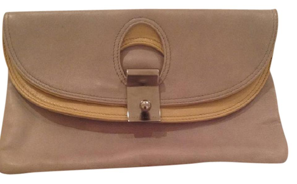 Flap Jacobs and Clutch Grey Marc Leather Light Beige P85zWw