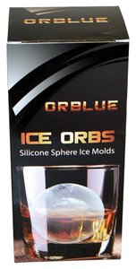 Orblue Ice Ball Mold - Silicone Ice Ball Maker